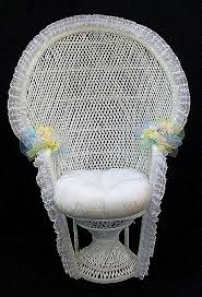 baby shower chair for sale decorating a peacock wicker chair of a bridal shower island