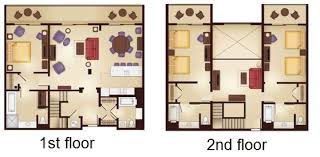 animal kingdom 3 bedroom villa floor plan u2013 home plans ideas