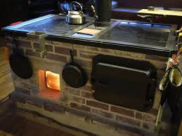 walker wood fired masonry cookstove and oven introduction and
