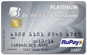 debit card bank of baroda rupay platinum debit card review capitalvidya