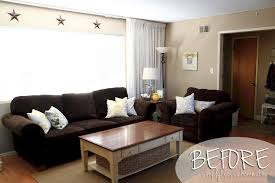 Should Curtains Go To The Floor Decorating Pictures Of Living Rooms With Brown Sofas What Color Should I