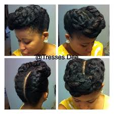 braided pompadour hairstyle pictures 10 gorgeous photos of french and dutch braid updos on natural hair