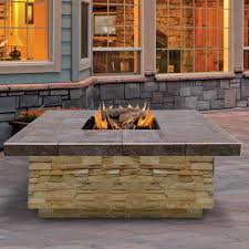 Propane Fireplace Logs by Top 15 Types Of Propane Patio Fire Pits With Table Buying Guide