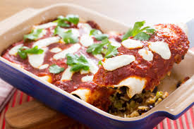 imagenes enchiladas rojas enchiladas rojas with nopales black beans beans blue apron and