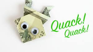 money origami frog dollar bill folding tutorial in 4k youtube