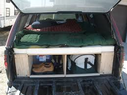 Building A Tent Platform Convert Your Truck Into A Camper 6 Steps With Pictures