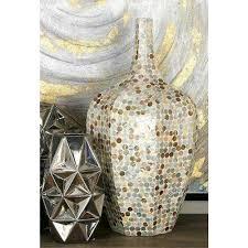 Capiz Vase Tulip Vases Vases U0026 Decorative Bottles The Home Depot