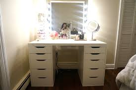 Makeup Bedroom Vanity Diy Makeup Vanity Brilliant Setup For Your Room Bedroom Vanities