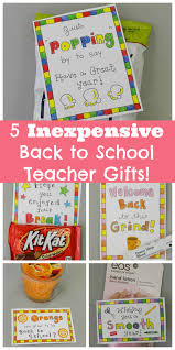 thanksgiving gift for teachers 5 inexpensive back to gifts for teachers free printables