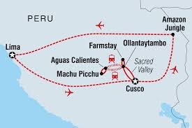 Peru South America Map by Peru Tours U0026 Travel Intrepid Travel Nz