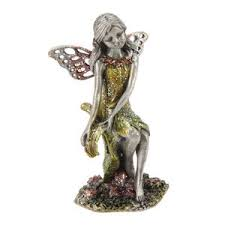 collectable fairies sparkling pewter ornament 08