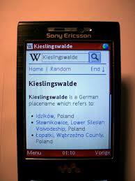 mobile web wikipedia