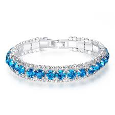 blue diamond bracelet images Inspirational blue diamond bangle bracelet jpg