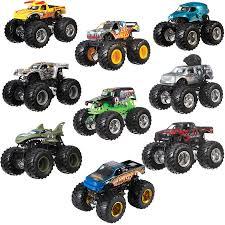wheels monster truck jam wheels monster jam tour favourites assorted toys r us
