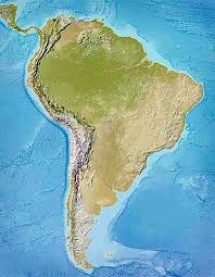 south america map belize political map of south america 1200 px nations project