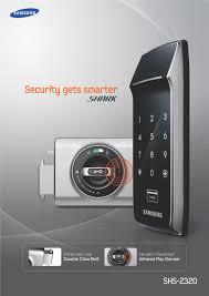 Patio Door Lock by Samsung Shs 2320 Digital Door Lock End 1 11 2018 6 15 Am