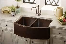 Copper Kitchen Faucet Kitchen Double Bow Copper Kitchen Sink With Kitchen Sinks And