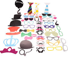 Halloween Photo Booth Props Aliexpress Com Buy 60 Pcs Diy Photo Booth Props Photobooth Kit