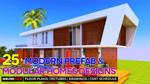 25 modern prefab and modular homes design ideas with floor plans