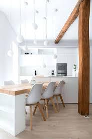 cuisine avec bar table table de cuisine bar table bar blanche alinea table de cuisine