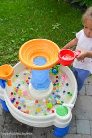 Toddler Water Table Water Table U0026 Pom Poms U2013 Happy Toddler Playtime