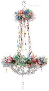 recycled chandeliers magpie chandeliers created from recycled objects so bohemian