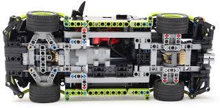 volkswagen lego small black motorized sedan car nico71 u0027s creations
