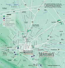 monterrey map mexico on line