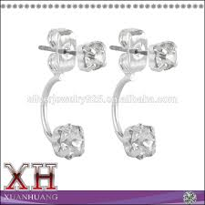 back diamond earrings artificial diamond earrings artificial diamond earrings suppliers