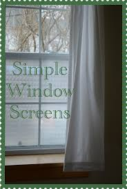 marvelously messy make your own window screen