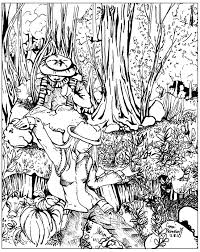 printable coloring pages forest now bbccfbdef
