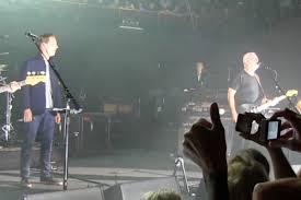 David Gilmour Comfortably Numb Sherlock U0027 Star Benedict Cumberbatch Joins David Gilmour On