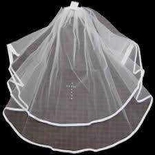 holy communion veils holy communion satin edge white veil with diamante