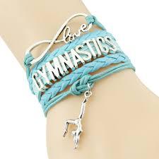 infinity love infinity love gymnastics bracelet