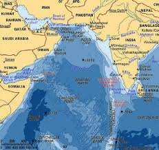 Bluebird Map The Arabian Sea