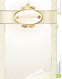 Wedding Invitation Cards Free Template For Invitation Card Royalty Free Stock Image Image