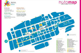 Blossom Music Center Map The Infiorata Flower Festival In Noto Sicily Holiday Com