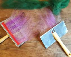 carding comb carding etsy