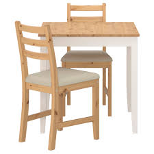 Small Table And Chairs For Kitchen Lerhamn Table And 2 Chairs Ikea