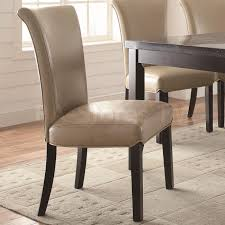 set of 4 dining room chairs coaster co newbridge dining set table with faux marble top and
