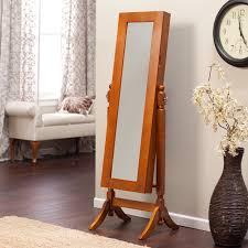 jewlery armoire mirror heritage jewelry armoire cheval mirror espresso hayneedle