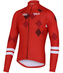 thermal cycling jacket buy men s thermal long sleeve cycling jersey racer red