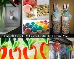 Easy Crafts To Decorate Your Home 38 Easy Diy Easter Crafts And Decorations