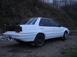 nissan langley hatchback ниссан лэнглей 1989 1 5 литр преобрёл я этот u003e cравнительно за