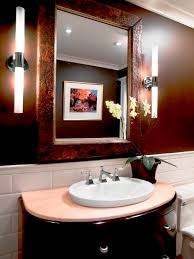 small powder room designs white solid slab marble granite countertop powder room design