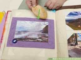 Handmade Scrapbook Albums How To Make Homemade Scrapbooks 14 Steps With Pictures