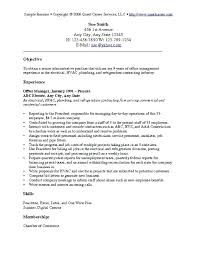 resume exles for any resume for all foodcity me