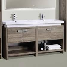 Double Bathroom Vanity modern bathroom vanities u0026 cabinets allmodern