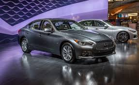 lexus vs infiniti price infiniti announces four cylinder hybrid 2016 q50 pricing u2013 news