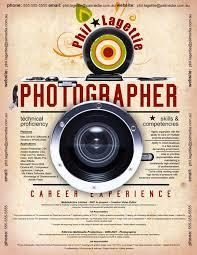 Photographer Resume Format 21 Best Photographers Resumes Images On Pinterest Resume